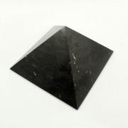 Piramidė iš šungito (poliruota) 10x10cm